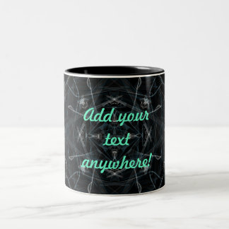 Snow Prism Graphic Two-Tone Coffee Mug