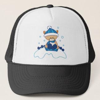 Snow Puppy Winterland Trucker Hat