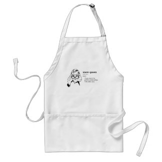 SNOW QUEEN ADULT APRON