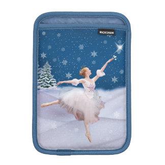 Snow Queen Ballerina Customizable Sleeve For iPad Mini