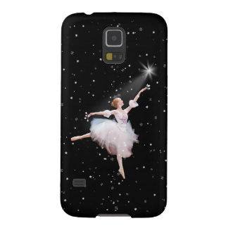 Snow Queen Ballerina Customizable Text Case For Galaxy S5