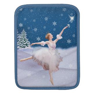Snow Queen Ballerina iPad Sleeve