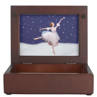 Snow Queen Ballerina Keepsake Box