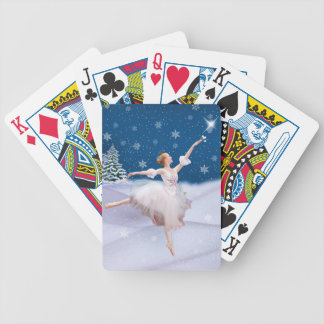 Snow Queen Ballerina  Playing Cards Bicycle Card Decks