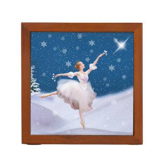 Snow Queen Ballerina, Reversible Pencil/Pen Holder