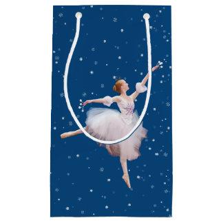 Snow Queen Ballerina Small Gift Bag