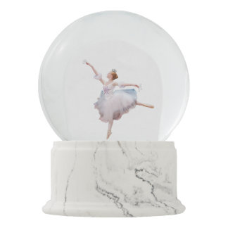 Snow Queen Ballerina Snow Globe