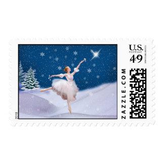 Snow Queen Ballerina Stamps