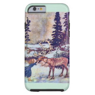 Snow Queen Fairy Tale with Reindeer Tough iPhone 6 Case
