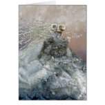 Snow Queen greeting card, no frame
