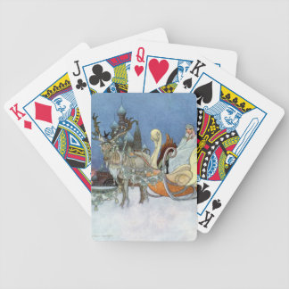 Snow Queen Ice Princess Bicycle Playing Cards