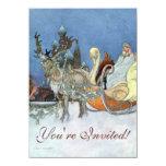 Snow Queen Ice Princess Personalized Invites