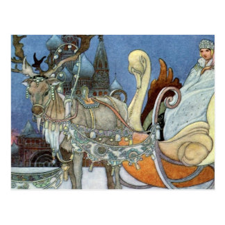 Snow Queen Ice Princess Postcard