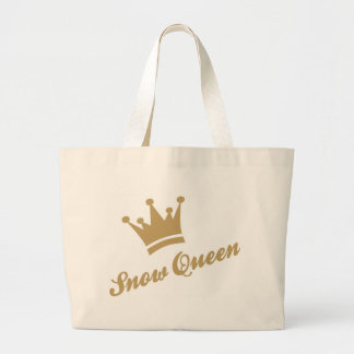 Snow Queen Large Tote Bag