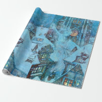 Snow Queen on a Winter's Night Dulac Illustration Wrapping Paper