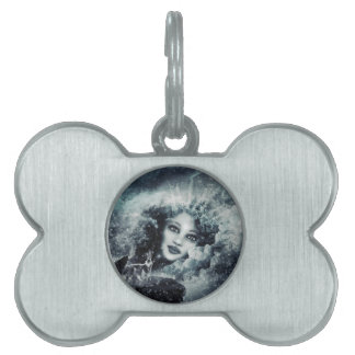Snow Queen Pet ID Tag