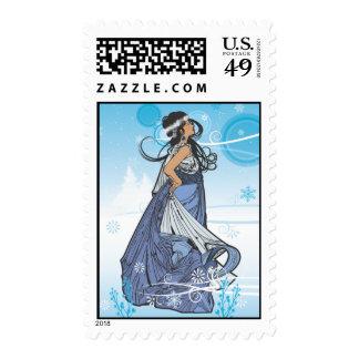 Snow Queen Postage