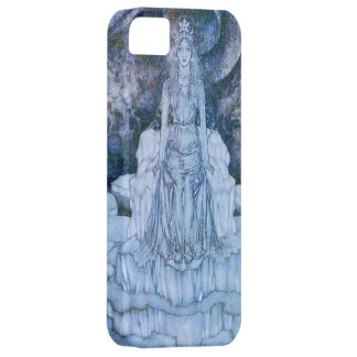 Snow Queen Sitting in the Middle of It iPhone SE/5/5s Case