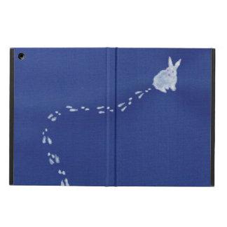 Snow rabbit iPad air cases