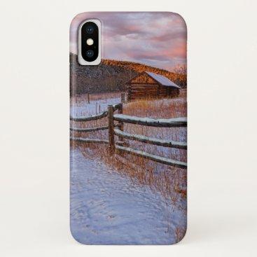Snow Ranch iPhone X Case
