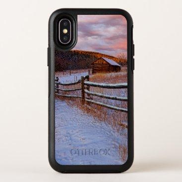 Snow Ranch OtterBox Symmetry iPhone X Case