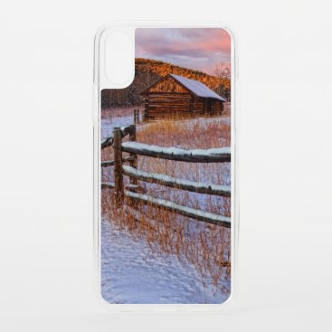Snow Ranch iPhone XS Case
