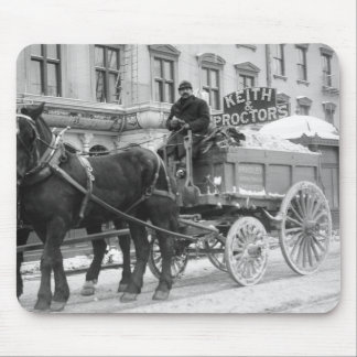 Snow Removal, 1908 Mouse Pad