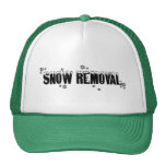 Snow Removal hat in green © Angel Honey, 2009