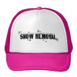 Snow Removal hat in hot pink © Angel Honey, 2009