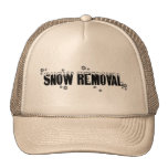 Snow Removal hat in khaki © Angel Honey, 2009