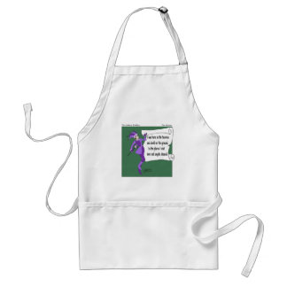 Snow Riddle Adult Apron