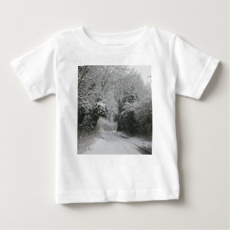 Snow Road Baby T-Shirt