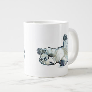 Snow Rub Large Coffee Mug