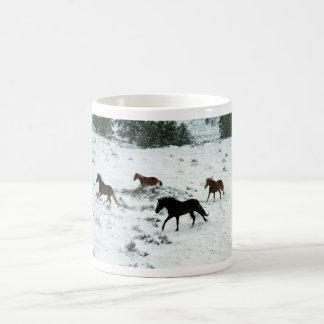 Snow Run Classic White Coffee Mug