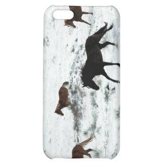 Snow Run iPhone 5C Cover