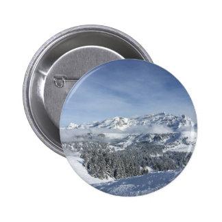 Snow scene button