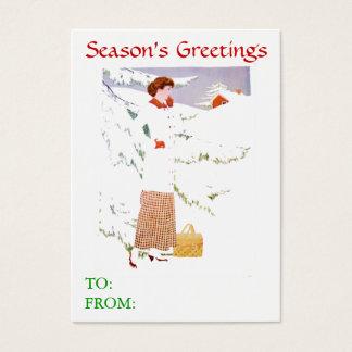 Snow Scene Gift Cards
