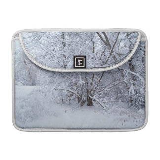 "Snow Scene Macbook Pro 13"" Sleeve"