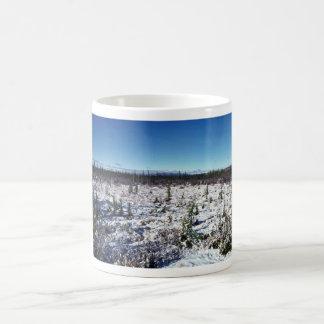 Snow Scene of Tetlin National Wildlife Refuge Classic White Coffee Mug