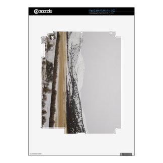 snow scene skin for the iPad 2