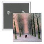 Snow Scene-Wanstead Park Button
