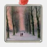 Snow Scene-Wanstead Park Ornament