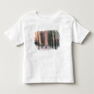 Snow Scene-Wanstead Park Toddler T-shirt