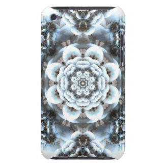Snow Serenity Mandala iPod Case-Mate Case