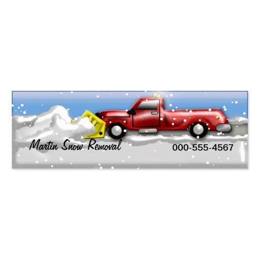 Snow plow business card templates page2 bizcardstudio snow service business card templates colourmoves Images