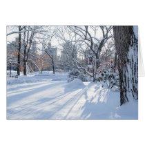 Snow Shadows Card