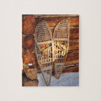 Snow Shoes Jigsaw Puzzle