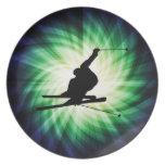 Snow Ski Gift Plate