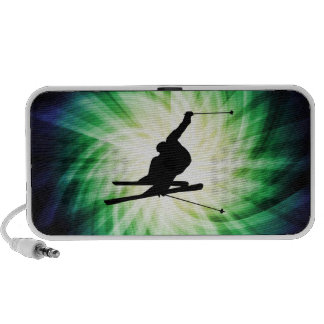 Snow Ski Gift Portable Speaker