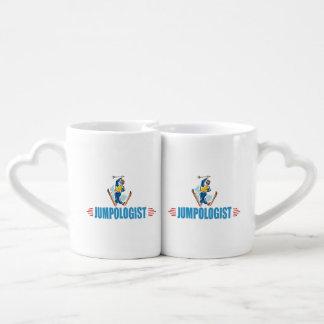 Snow Ski Lover Couples Coffee Mug